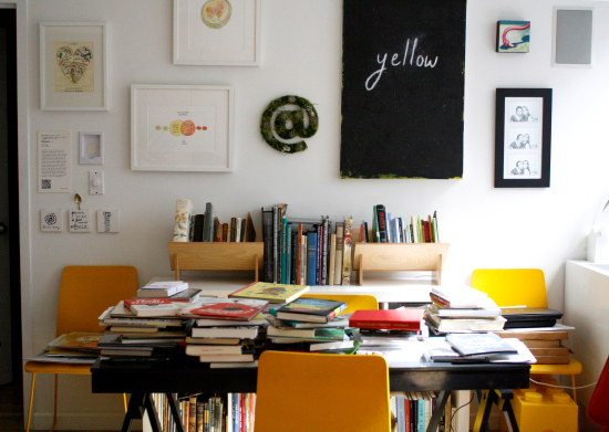 Maria popova's home office
