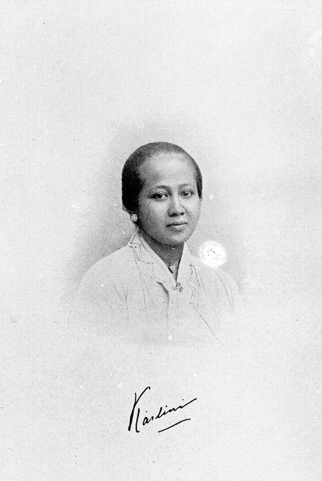 COLLECTIE_TROPENMUSEUM_Gesigneerd_portret_van_Raden_Ajeng_Kartini_TMnr_10018775