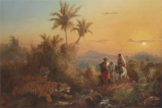 javanese-landscape-with-tigers-listening-to-the-sound-of-a-travelling-group-1849.jpg!Large
