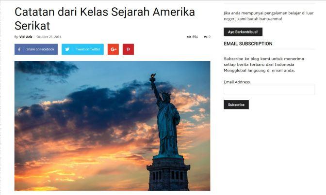 Indonesia Mengglobal